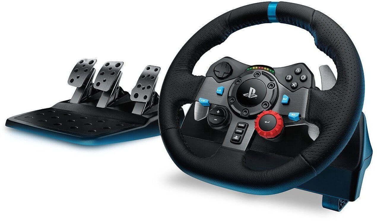 Logitech-G29-Driving Force-Racing-Lenkrad