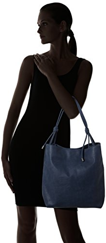 Damen Tote-Bag Handtasche von ESPRIT in Navy Blue-5